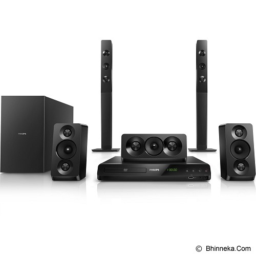 PHILIPS Home Theater 5.1 inch [HTD5550] - Home Theater System